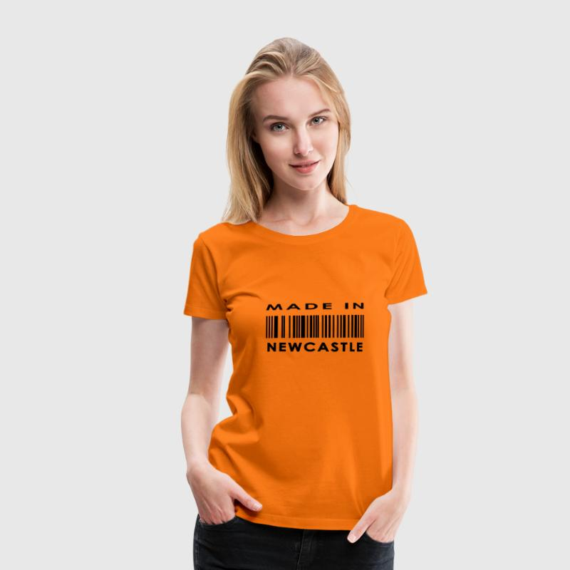 Made in Newcastle upon Tyne T-Shirts - Women's Premium T-Shirt