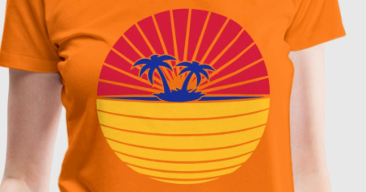 Beach t shirt spreadshirt for One color t shirt design inspiration