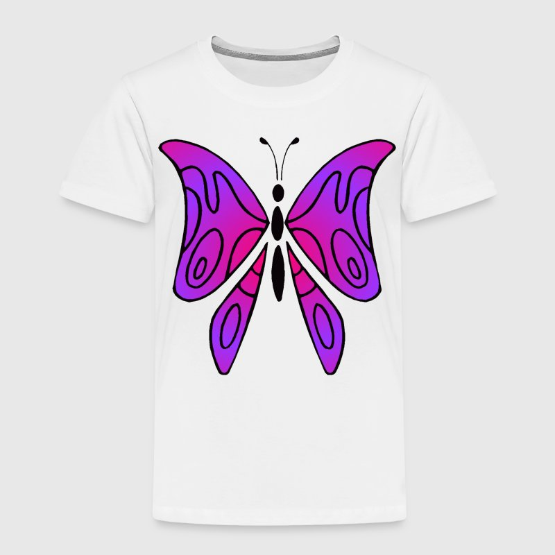 Pink and purple butterfly - Shirt kid - Kids' Premium T-Shirt