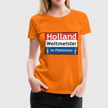 Holland T-Shirts - Frauen Premium T-Shirt