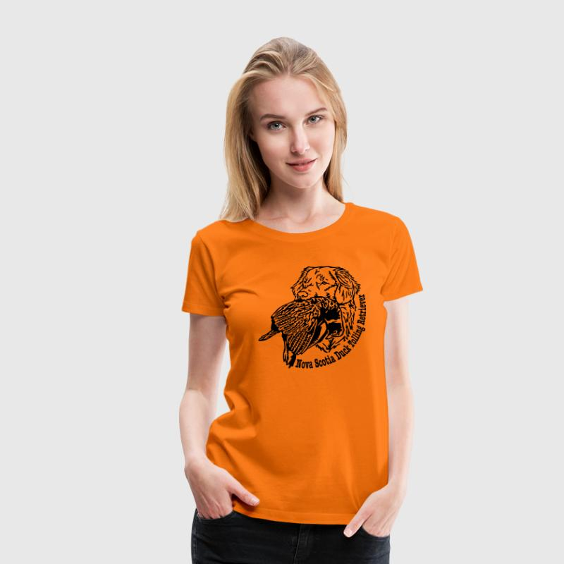 442 Nova Scotia Duck Tolling Retriever T-Shirts - Frauen Premium T-Shirt