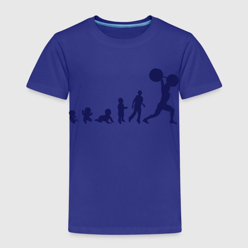 evolution halterophilie weightlifting1 Tee shirts - T-shirt Premium Enfant