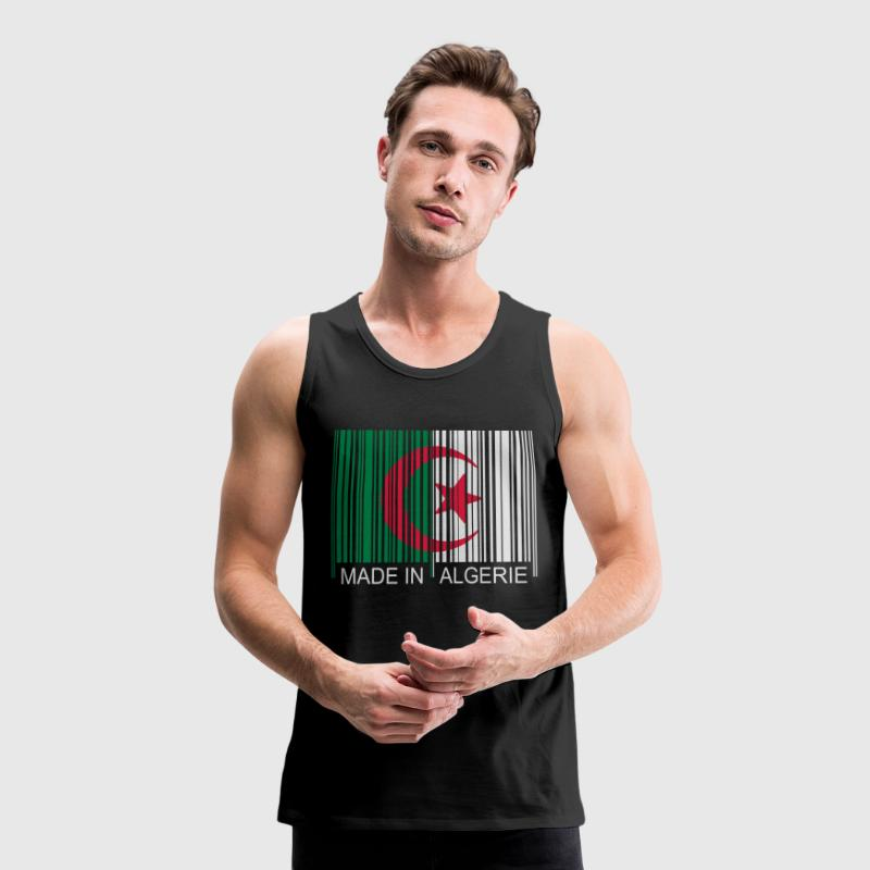Code barre Made in ALGERIE Tee shirts - Débardeur Premium Homme