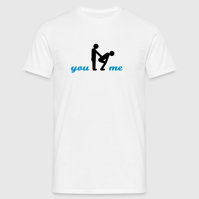gay guys bottom T-Shirts - Männer T-Shirt