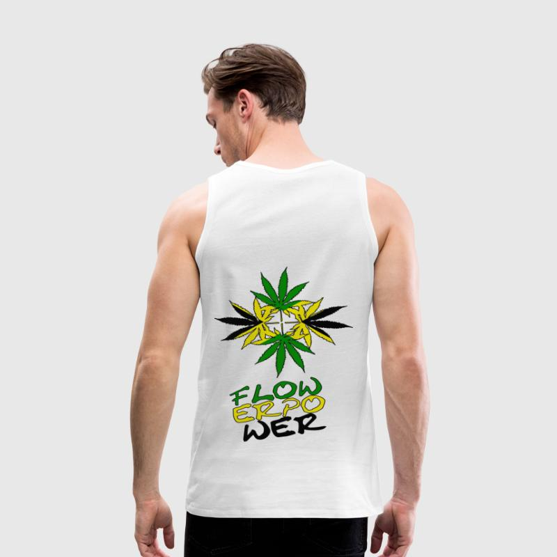 flower power - Männer Premium Tank Top
