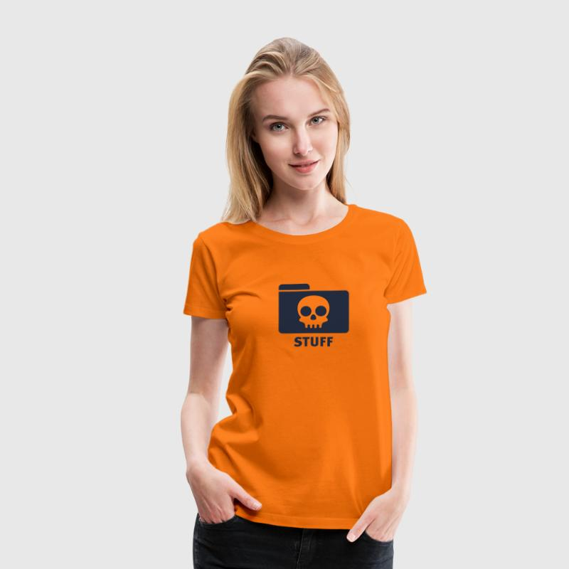 Orange Stuff © T-Shirts - Maglietta Premium da donna