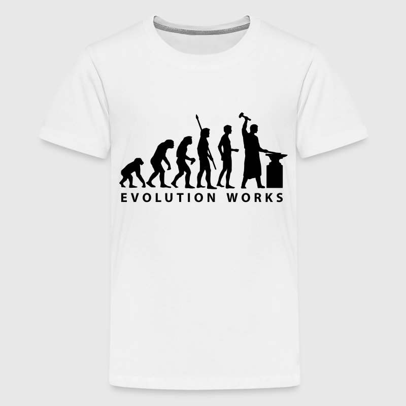 evolution_schmied T-shirts - Teenager premium T-shirt