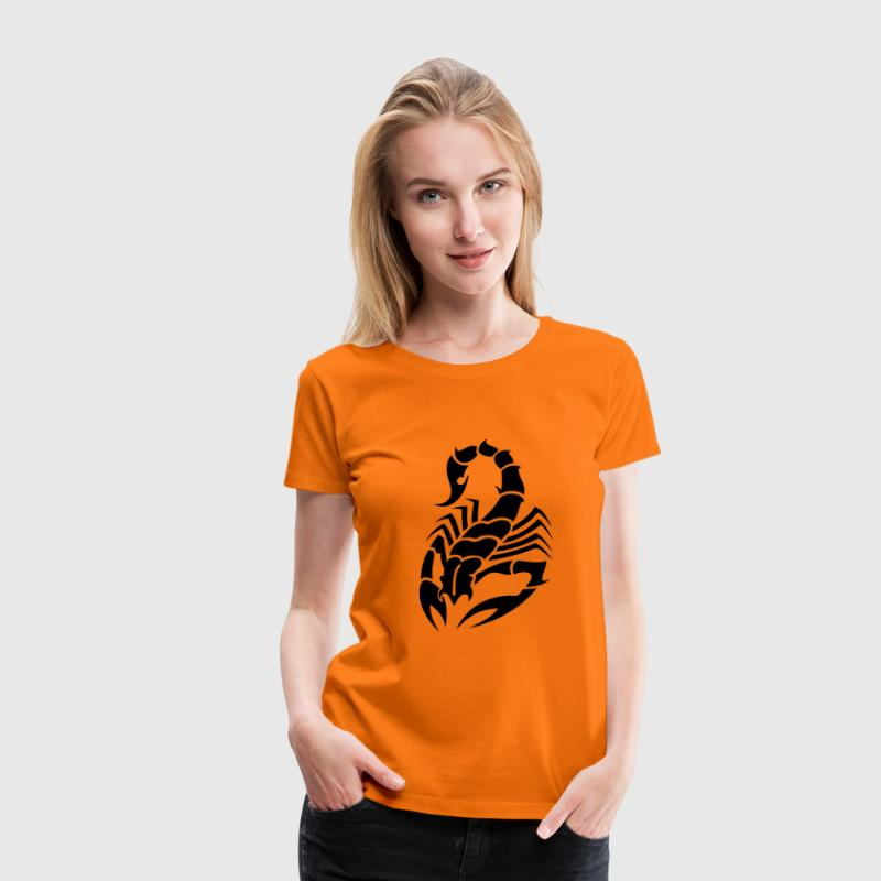 tribal scorpion T-Shirts - Women's Premium T-Shirt