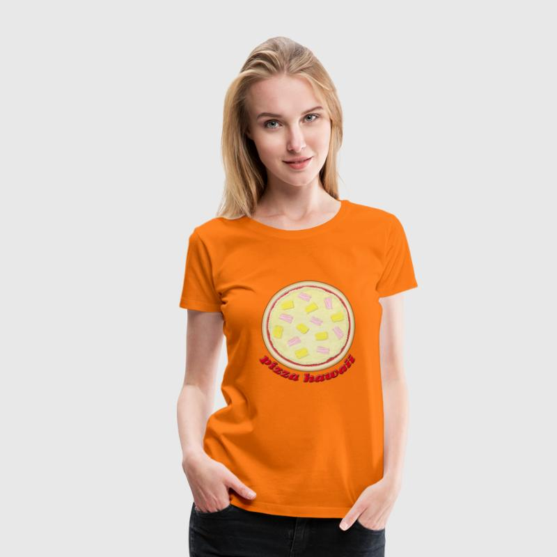 Pizza Hawaii - Frauen Premium T-Shirt