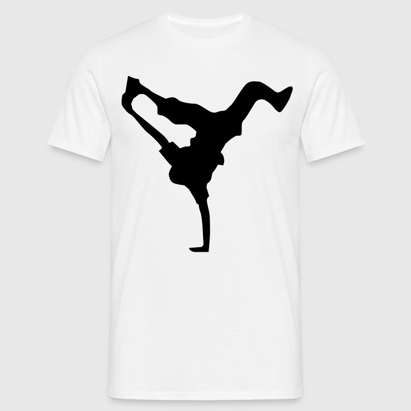 breakdance dance music hiphop Kinder T-Shirts - Männer T-Shirt