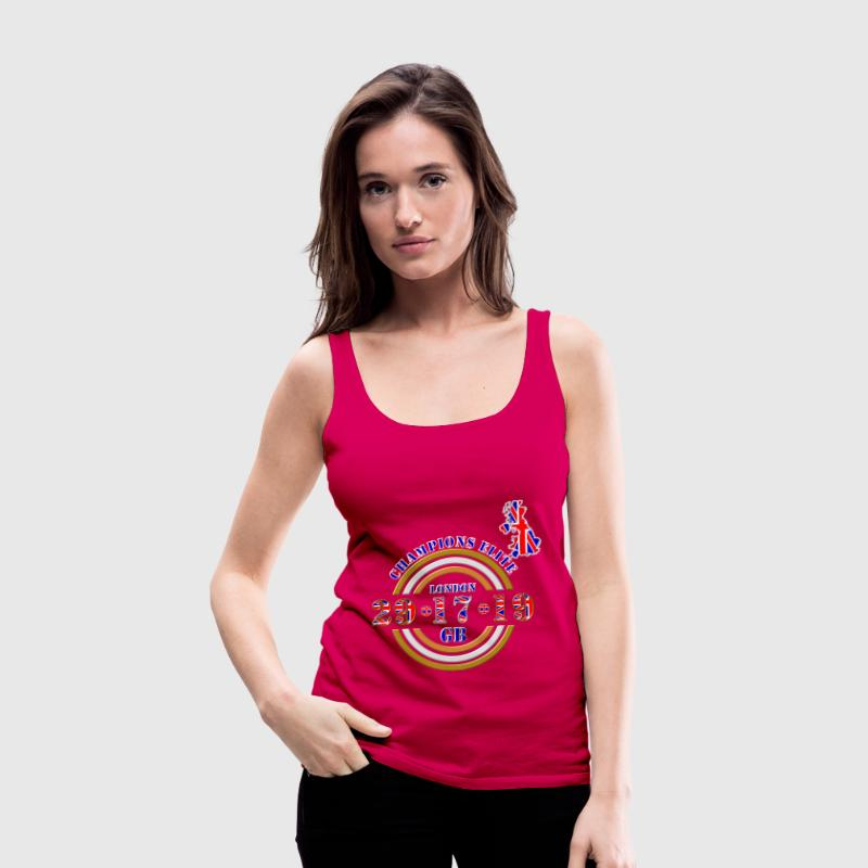 champions elite british athletics Tops - Women's Premium Tank Top