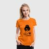 Like a i love strong hipster female boss woman T-Shirts - Women's Premium T-Shirt