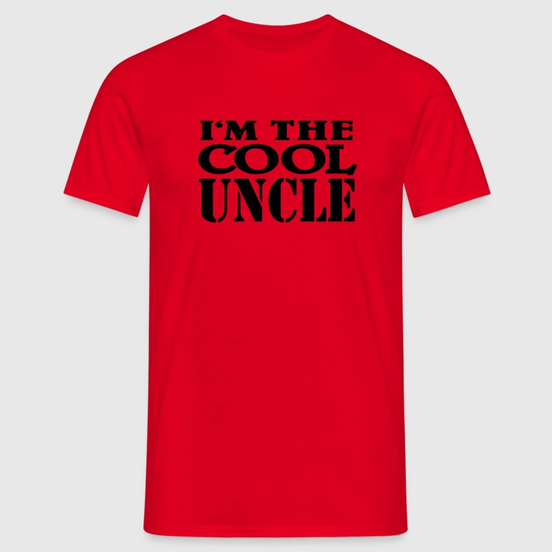 I'm the cool Uncle Magliette - Maglietta da uomo