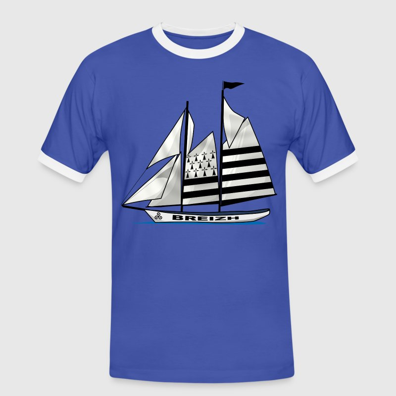 voilier breton Tee shirts - T-shirt contraste Homme