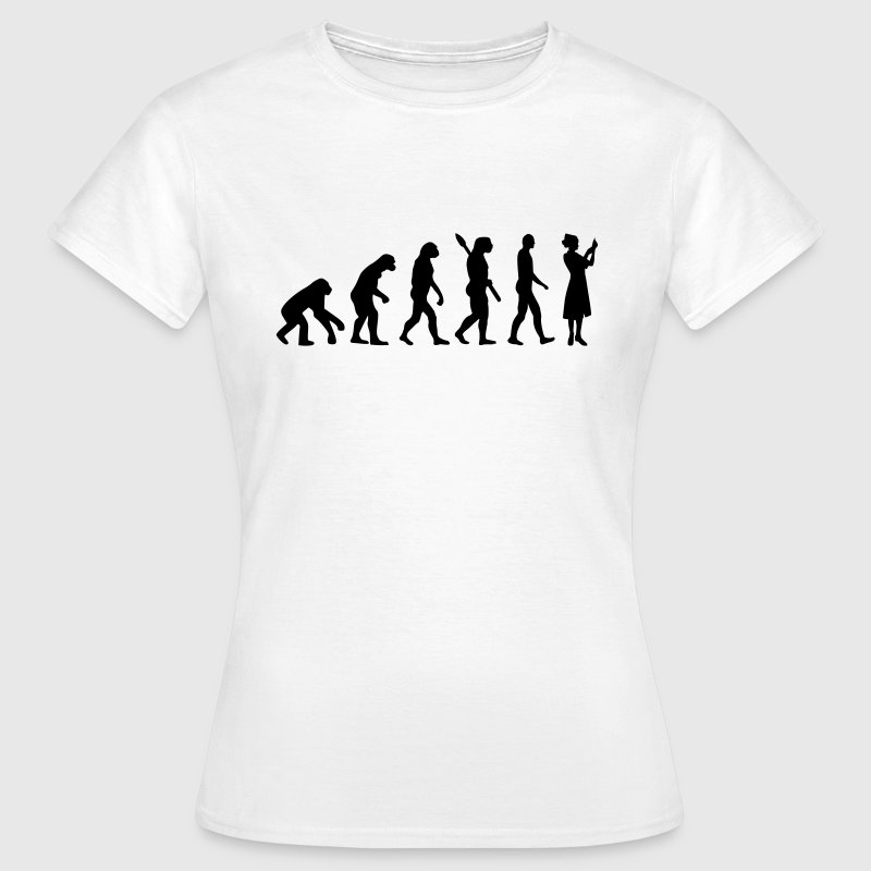 Evolution Krankenschwester T-Shirts - Frauen T-Shirt