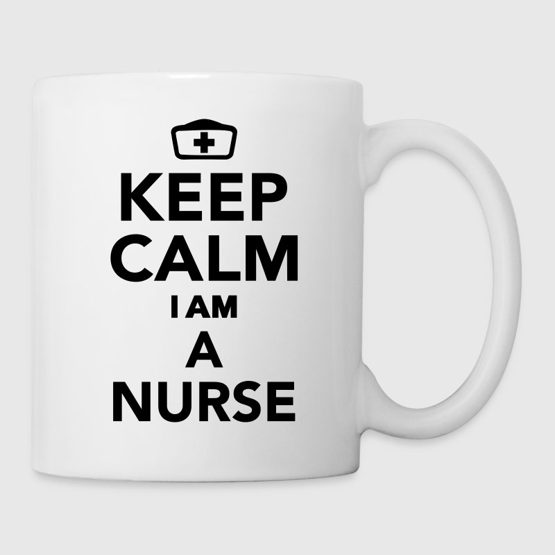 Keep calm I'm a nurse Flaschen & Tassen - Tasse