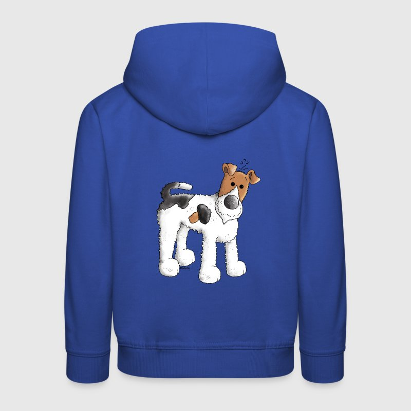 Funny Fox Terrier - Dog - Dogs Hoodies - Kids' Premium Hoodie