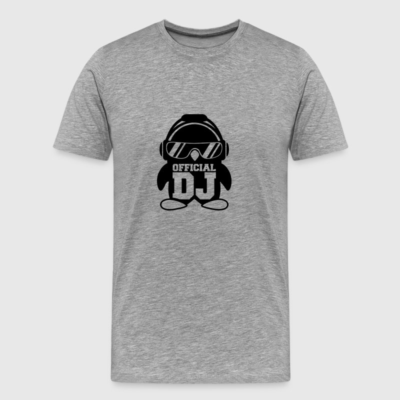 Official DJ Penguin headphones T-Shirts - Men's Premium T-Shirt