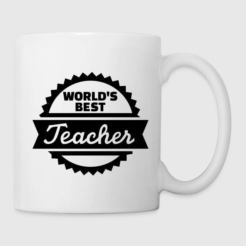 World's best teacher Flaschen & Tassen - Tasse