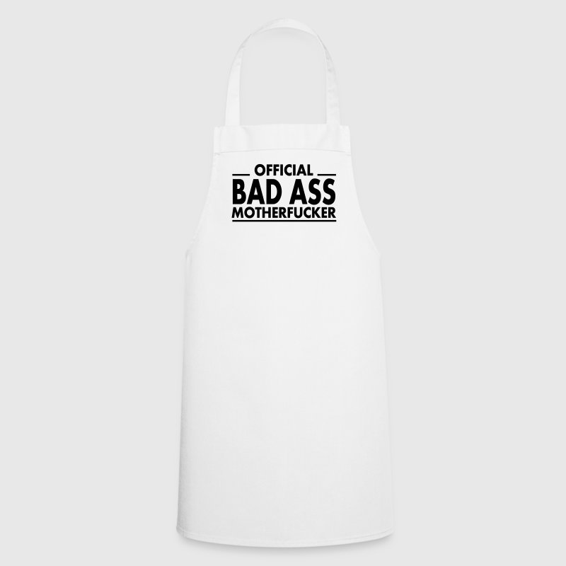 official bad ass motherfucker / badass  Aprons - Cooking Apron