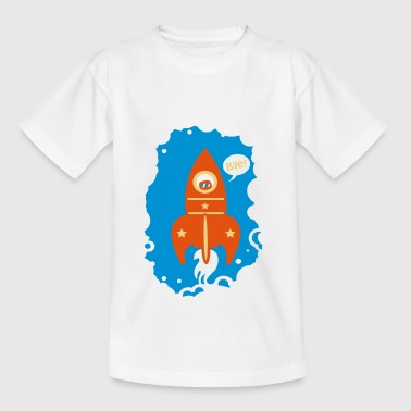 Heather grey Rocket launcher Shirts - Teenage T-shirt