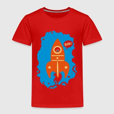 Heather grey Rocket launcher Shirts - Kids' Premium T-Shirt
