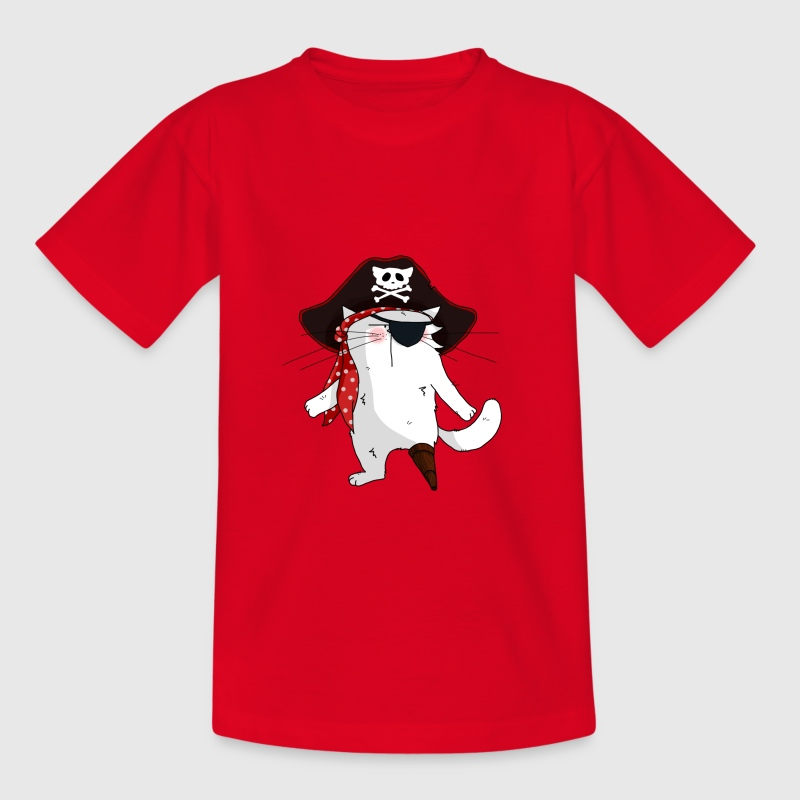 Chat Pirate - T-shirt Enfant