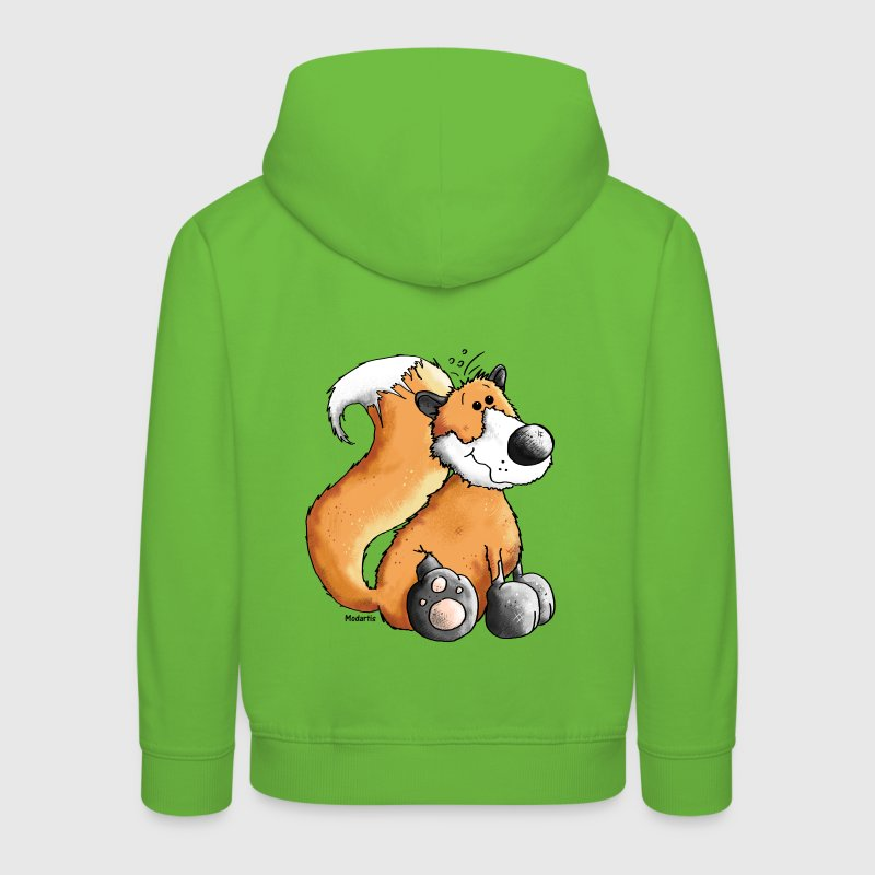 Sweet Fox - Woodland Animals - Wildlife Hoodies - Kids' Premium Hoodie