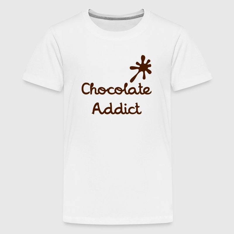 Chocolate Addict Tee shirts - T-shirt Premium Ado
