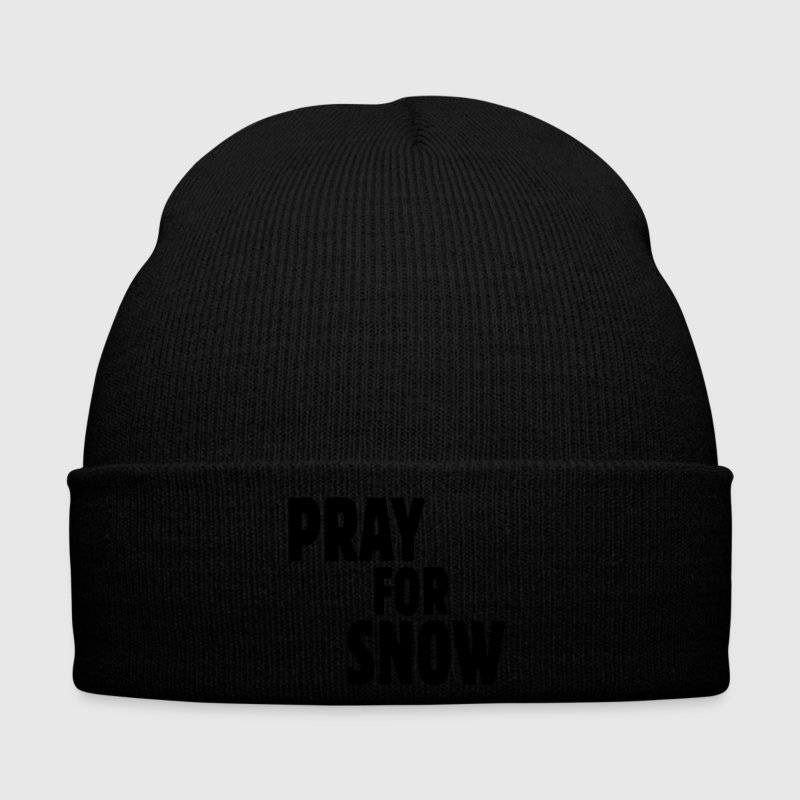 pray for snow Gorras y gorros - Gorro de invierno