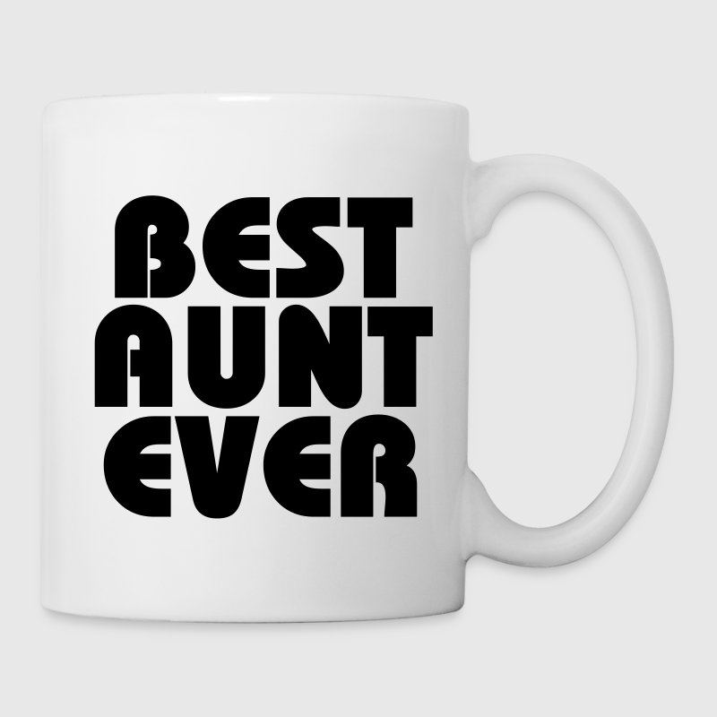 Best Aunt ever Botellas y tazas - Taza