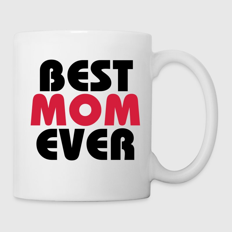 Best Mom ever Flasker & krus - Kop/krus