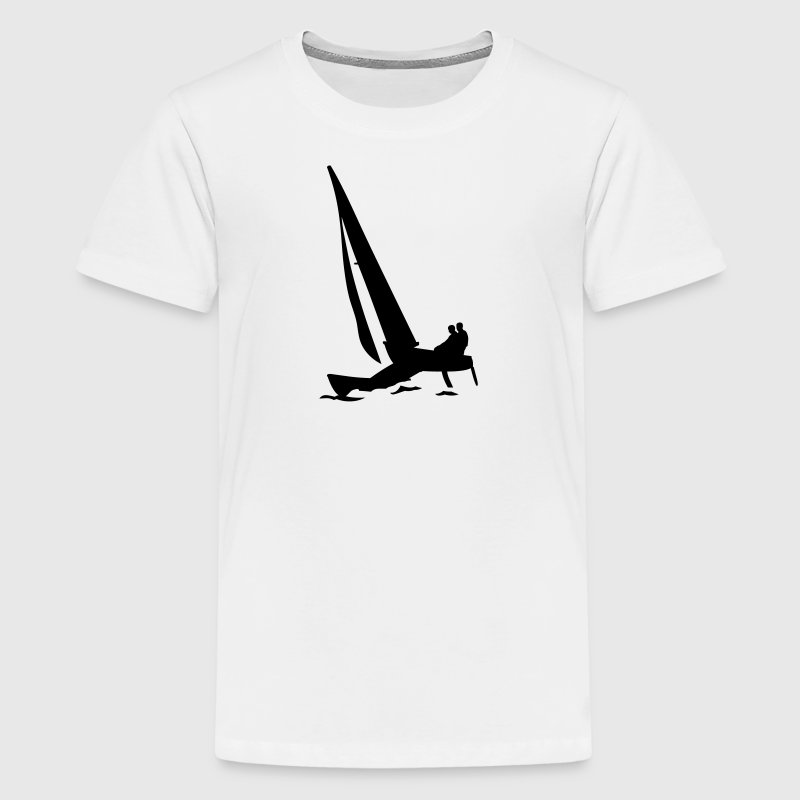 catamaran Shirts - Teenage Premium T-Shirt
