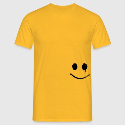 Smiley Graffiti Gesicht Jacken & Westen - Männer T-Shirt