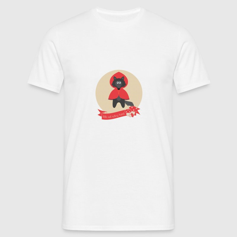 body loup chaperon rouge - T-shirt Homme