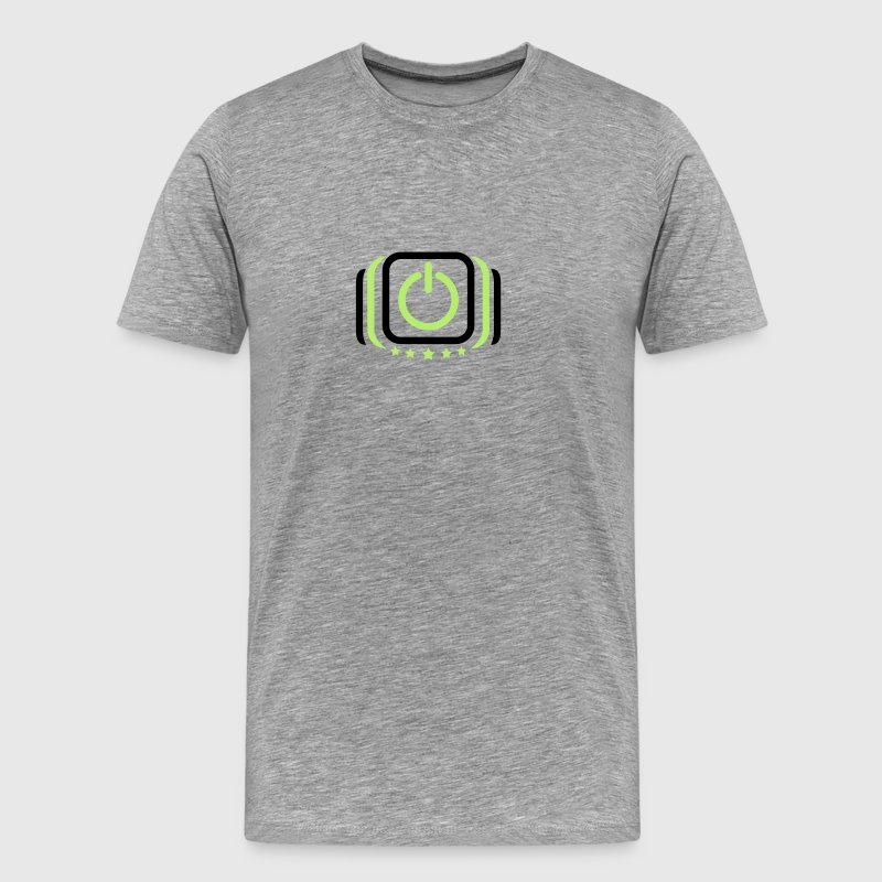 Power on off on off switch T-Shirts - Men's Premium T-Shirt