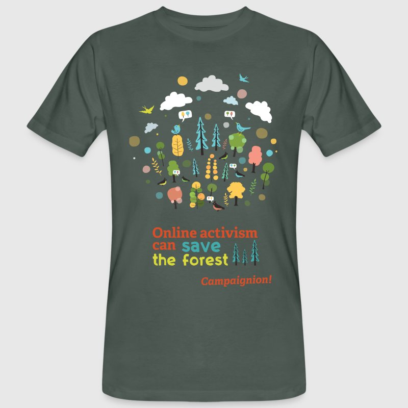 Save the forest T-Shirts - Men's Organic T-shirt