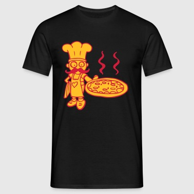 pizza Tabliers - T-shirt Homme