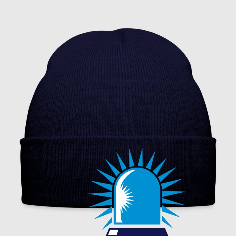 rotating blue beacon light Caps & Hats - Winter Hat