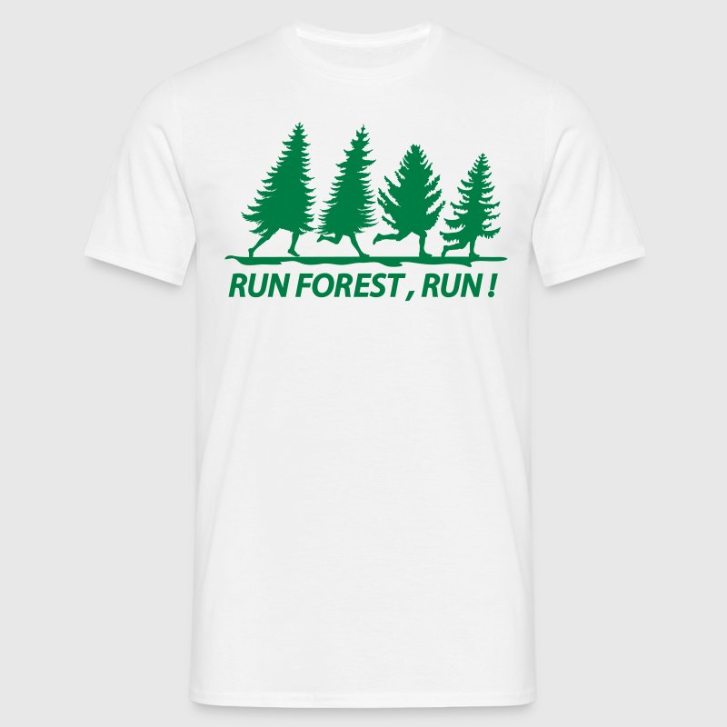 Run forest - Männer T-Shirt