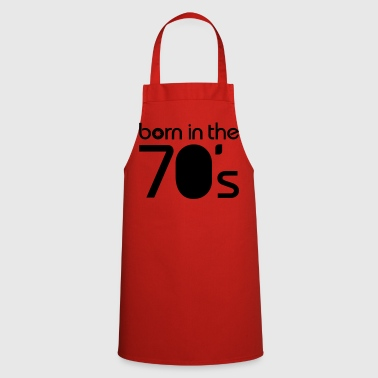 born in the 70´s T-shirts - Forklæde