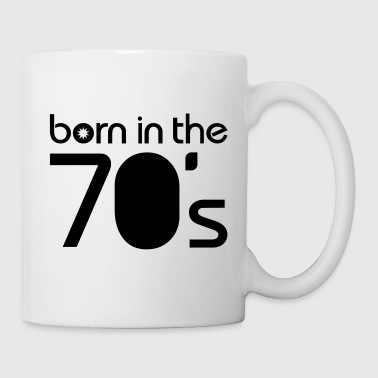 born in the 70´s T-shirts - Kop/krus