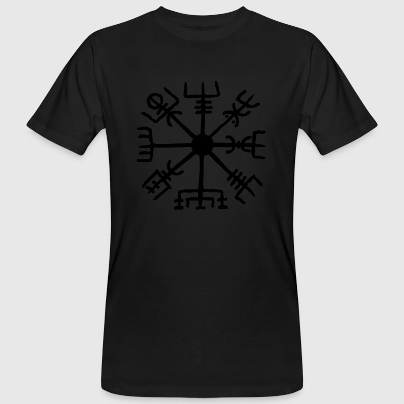 Vegvisir, Magic, Runes,  Protection & Navigation Tee shirts - T-shirt bio Homme