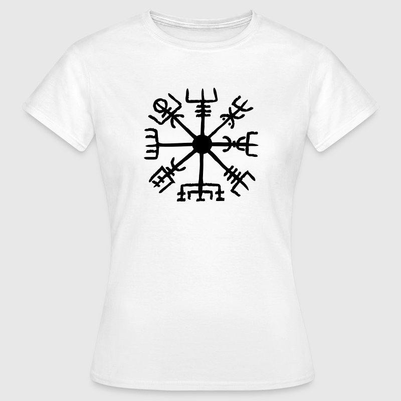 Vegvisir, Magic, Runes,  Protection & Navigation Tee shirts - T-shirt Femme