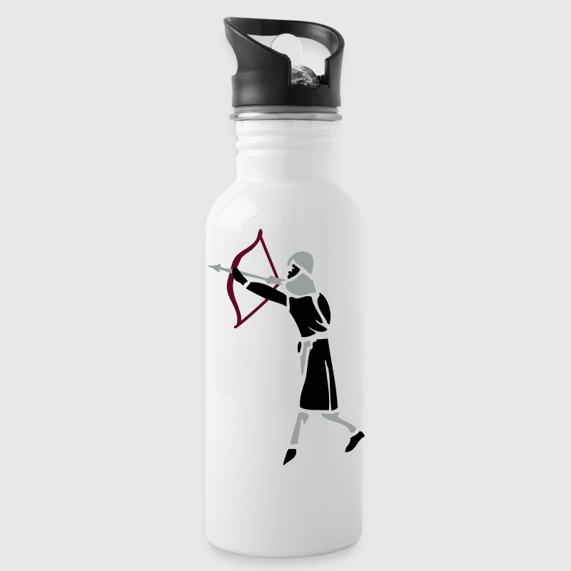 Archer Medieval Icon patjila design Bottles & Mugs - Water Bottle