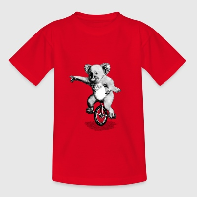 Koala Unicycle Shirts - Kids' T-Shirt