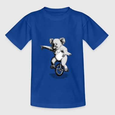 Koala Unicycle Shirts - Teenage T-shirt