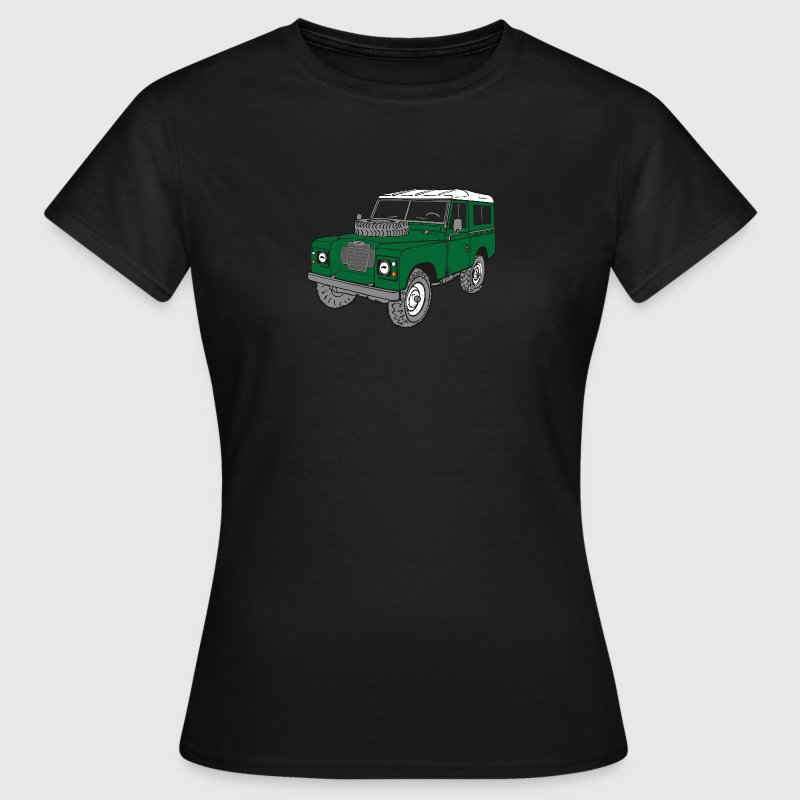 Land Rover Landie 4x4 Off-Road Series 3 88 Tee shirts - T-shirt Femme