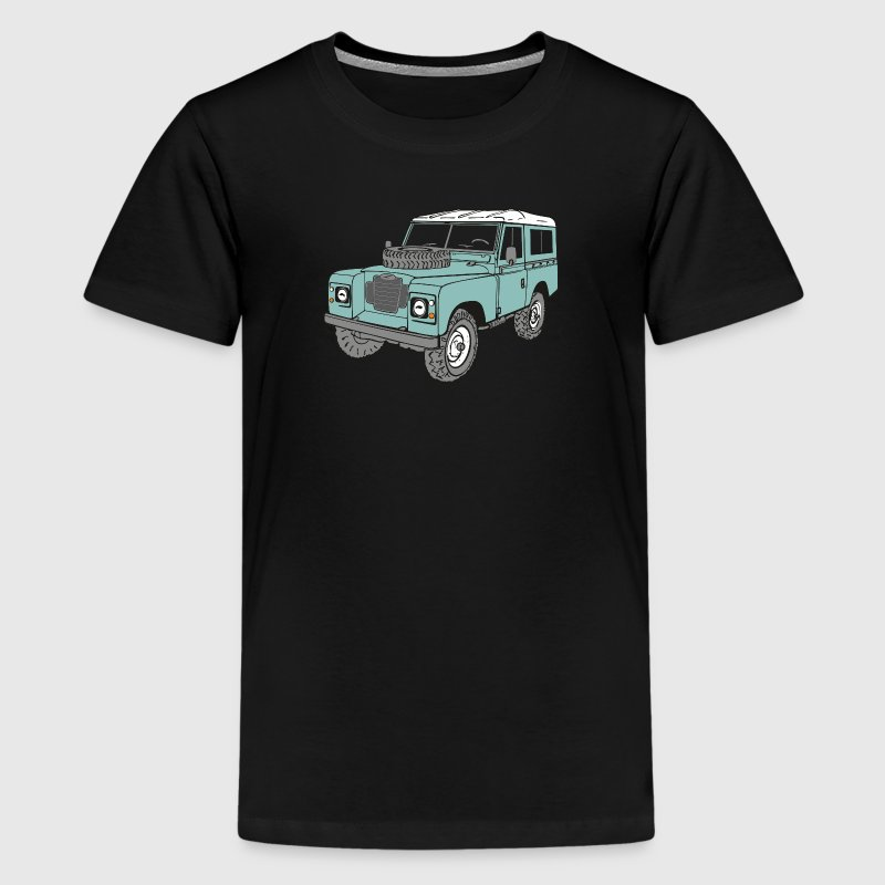 Land Rover 4 x 4 Land Rover Series3 88 Shirts - Teenage Premium T-Shirt