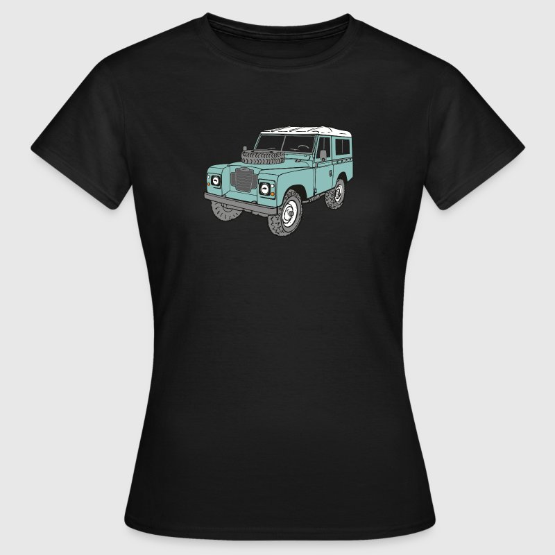 Landy 4x4 Land Rover Serie3 T-Shirts - Frauen T-Shirt
